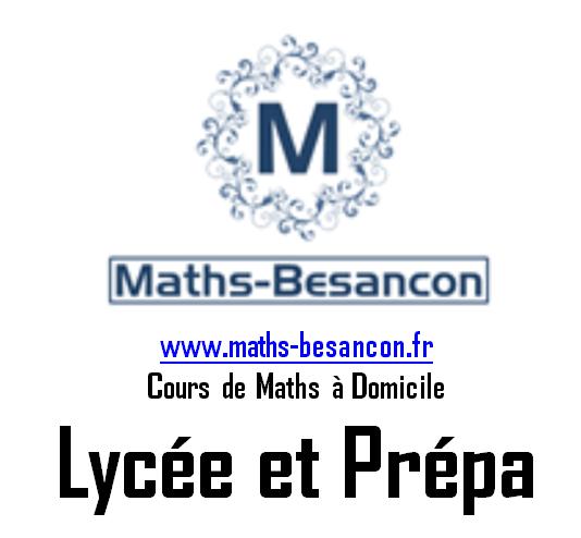 Professeur Particuliers en Mathématiques sur Besançon